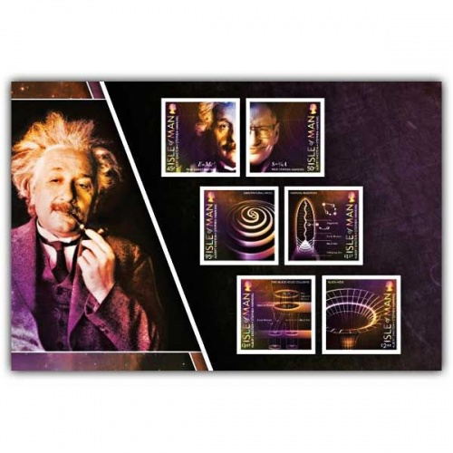 100 Years of General Relativity Self Adhesive Pane (Mint)