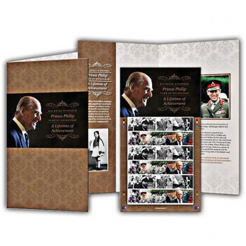 A Lifetime of Achievement Stamp Sheet and Folder (Mint)