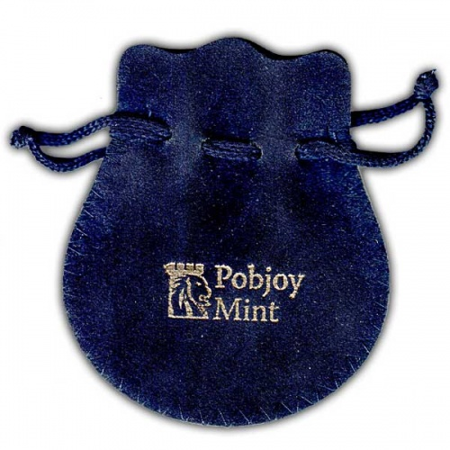 ''Pobjoy Mint'' Drawstring Bell Pouch