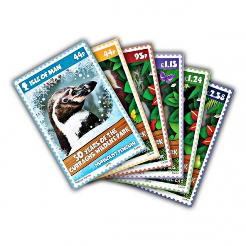 Curraghs Wildlife Park 50th Anniversary Postcards