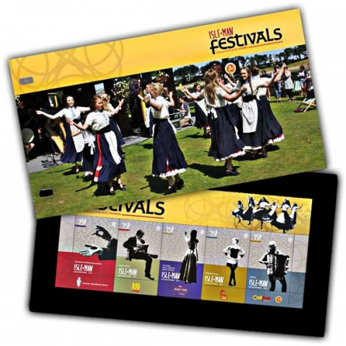 Isle of Man Festivals Presentation Pack