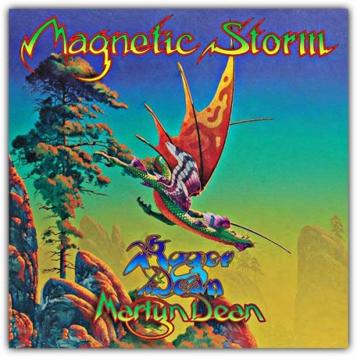 Magnetic Storm by Roger Dean