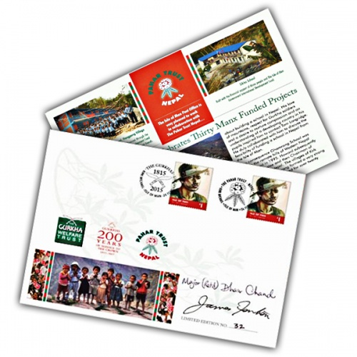 Pahar Trust Nepal Signed Cover