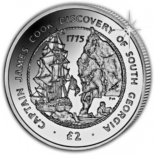 The 2015 Captain James Cook Cupro Nickel Coin
