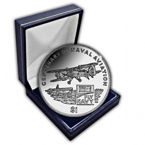 The 2009 Centenary of Naval Aviation Cupro Nickel Coin