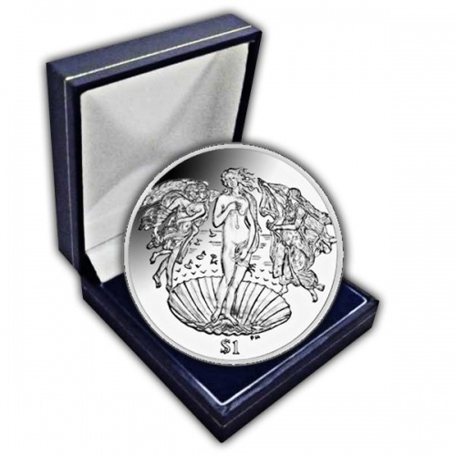 The 2010 500th Anniversary of the Death of Botticelli Cupro Nickel Coin