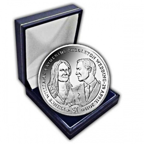 The 2011 Royal Wedding Cupro Nickel Coin