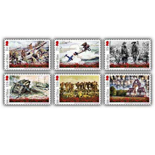 Centenary of World War I 1914-1918 - Battle of the Somme Mint Set (1 of each)