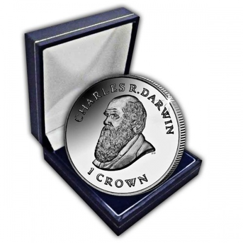The 2009 200th Anniversary of the birth of Charles Darwin Cupro Nickel Coin