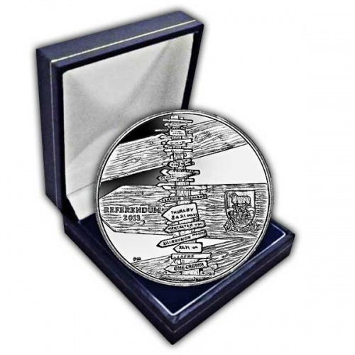 The 2013 Referendum Cupro Nickel Coin