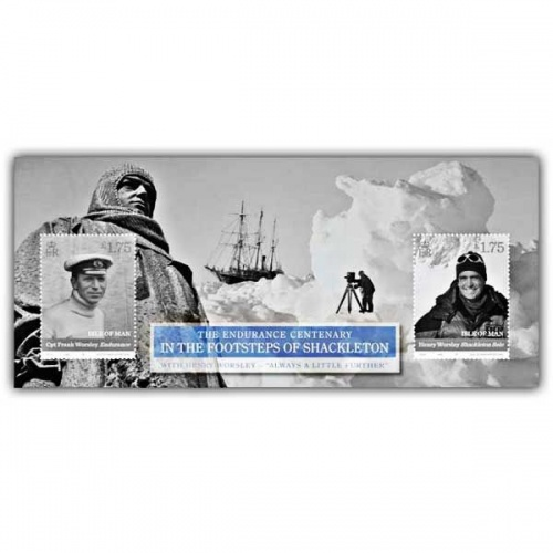 In the Footsteps of Shackleton Miniature Sheet (Mint)