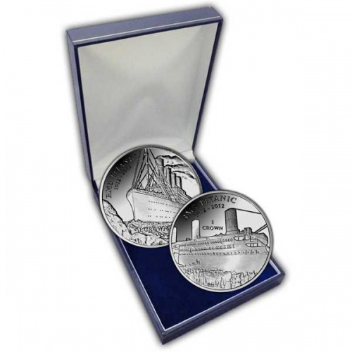 The 2012 Centenary of RMS Titanic Silver Two Coin Set