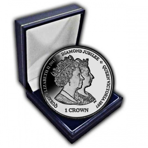 The 2013 Anniversary of Queen Victoria and Queen Elizabeth II Coronations Cupro Nickel Coin