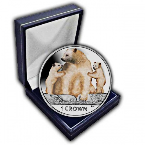 The 2013 Kermode Bear Cupro Nickel Colour Coin