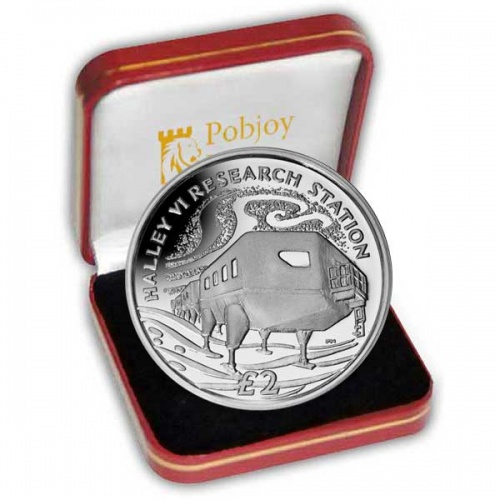 The 2013 Halley VI Research Station Silver Coin