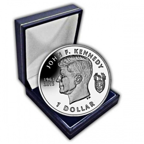 The 2013 John F Kennedy 50th Anniversary Cupro Nickel Coin
