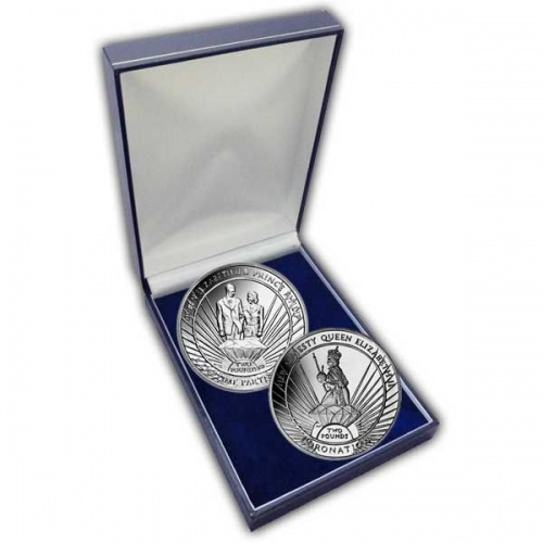 The 2013 Lifetime of Service Cupro Nickel Two Coin Set