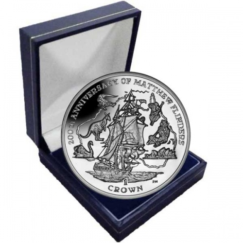 The 2014 200th Anniversary of Matthew Flinders Cupro Nickel coin