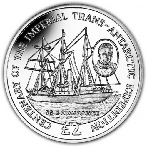 The 2014 Centenary of the Start of the Trans-Antarctic Expedition Cupro Nickel Coin