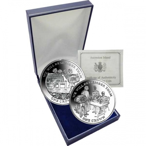 The 2014 Centenary of World War I Silver Two Coin Set