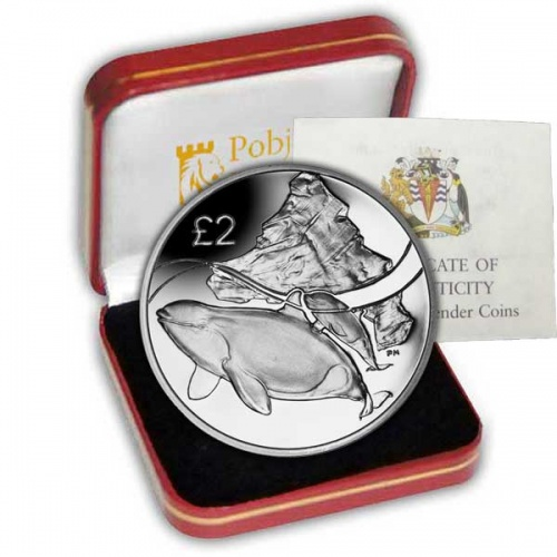 The 2014 Orca Whale Silver Coin