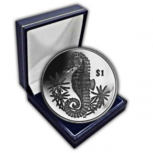 The 2014 Seahorse Cupro Nickel Coin