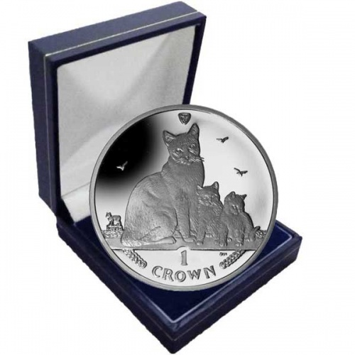 The 2014 Snowshoe Cat Cupro Nickel Coin