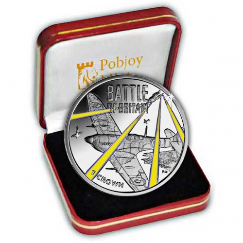 The 2015 75th Anniversary of the Battle of Britain Silver Colour Coin