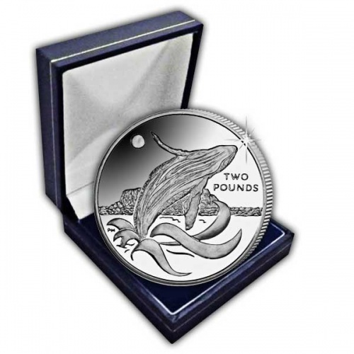 The 2015 Humpback Whale Cupro Nickel Coin