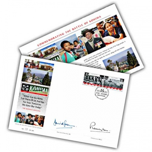 The 2015 Kohima Signed First Day Cover