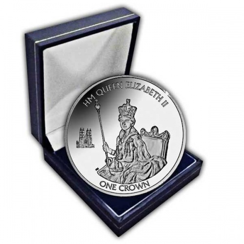 The 2015 Longest Reigning British Monarch Cupro Nickel Coin