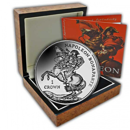 The 2015 Napoleon Bonaparte High Relief Silver Coin