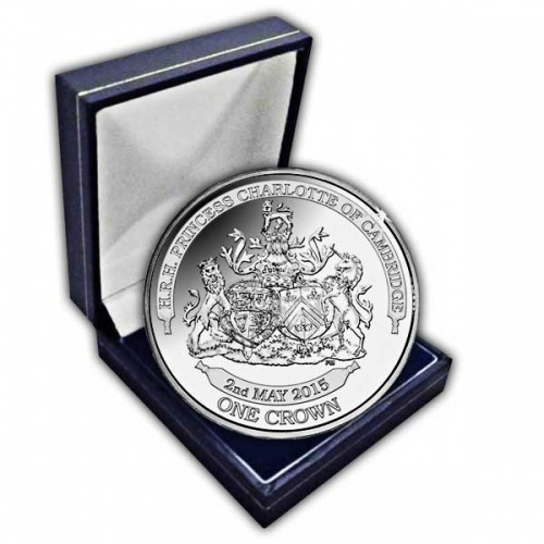 The 2015 Princess Charlotte of Cambridge Cupro Nickel Coin