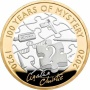 Agatha Christie 2020 UK £2 Silver Proof Coin