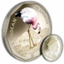 The 2019 Andean Flamingo Coloured Virenium Coin