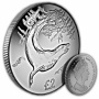The 2018 Leopard Seal Cupro Nickel Coin