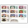 Christmas Cards Self Adhesive First Day Cover