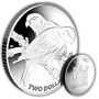 The 2017 Collared Lory Silver Coin