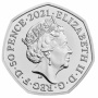 Decimal Day 2021 UK 50p Brilliant Uncirculated Coin