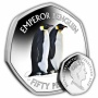 The Emperor Penguin 2019 50p Cupro Nickel Coloured Coin