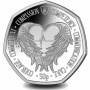 Florence Nightingale Angel Wings 2021 50p Cupro Nickel Coin