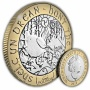 The 2018 ''Hunt the Wren'' Christmas £2 Uncirculated Bi-Metal Coin