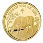 Lunar Year of the Ox 2021 United Kingdom Quarter-Ounce Gold Proof Coin