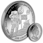 First Man on The Moon 2019 Silver Coin