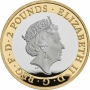 Mayflower 2020 UK £2 Silver Proof Piedfort Coin