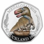 Megalosaurus 2020 UK Silver Proof Colour 50p Coin