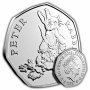 Peter Rabbit 2018 UK 50p Brilliant Uncirculated Coin
