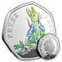 Peter Rabbit 2018 UK 50p Silver Proof Coin