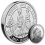 Platinum Wedding 2017 UK £5 Silver Proof Piedfort Coin