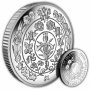 Platinum Wedding Anniversary ''Flowers of Love'' 2017 Cupro Nickel Coin